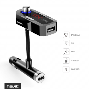 HAVIT HV-FM25 In-Car Bluetooth FM Transmitter