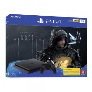 PlayStation 4 Slim 1TB Console + Death Stranding