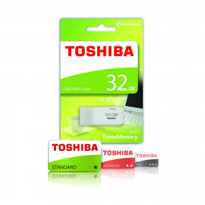 Toshiba 32GB USB 2.0 Flash Drive