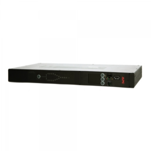APC RACK ATS 230V 16A C20 IN, (8) C13 (1) C19 OUT AP4423