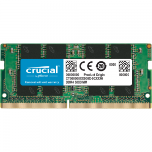 Crucial 8GB DDR4 Memory Module For Laptop
