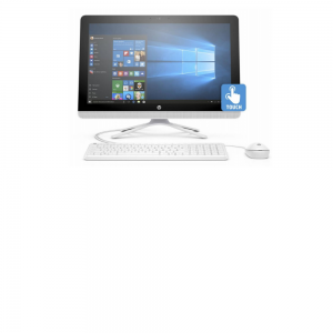 HP 22-C0023W Intel i3-8100T (3.1 GHz, 6 MB Cache, 4 Cores), 4 GB DDR4-2400 RAM, 1 TB 7200 RPM SATA
