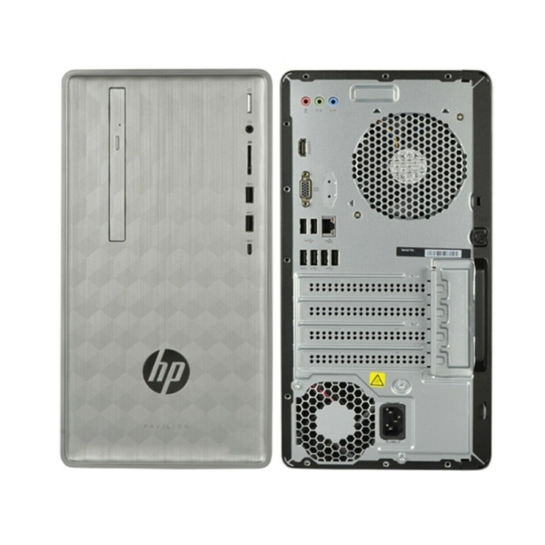 HP PAVILION 590-P0086 DESKTOP PC MINI TOWER INTEL CORE I7 3.2GHZ 8GB RAM 1TBHARD DRIVE SATA WINDOWS 10