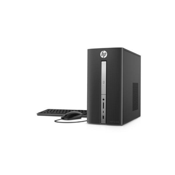 HP Pavilion 570 INTEL CORE i5 5-7400 3.0hhz 8gb Ram 2tb Sata HDD + 16gb SSD, Windows 10. Keyboard + Mouse + internal Speakers