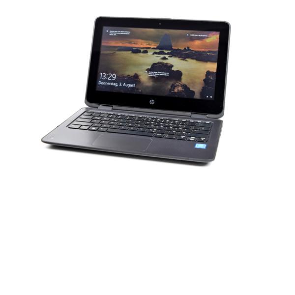 """HP ProBook x360 11 G1 Intel® Pentium® N4200 with Intel HD Graphics 505 128 GB M.2 SATA SSD, 11.6"""" diagonal HD 4 GB DDR3L-1600 SDRAM"""