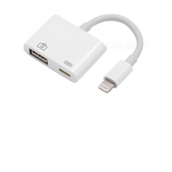 Lighting to USB Camera Adapter