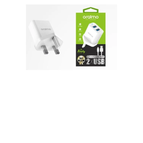 Oraimo Firefly OCW-U61D Dual USB Charger