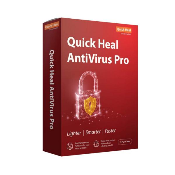 QUICK HEAL ANTIVIRUS 3 USERS