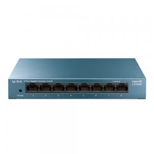 TP-Link 8-Port 10/100/1000Mbps Desktop Network Switch LS108G