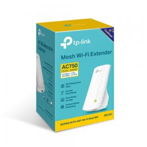 TP-Link AC750 Mesh Wi-Fi Range Extender RE200