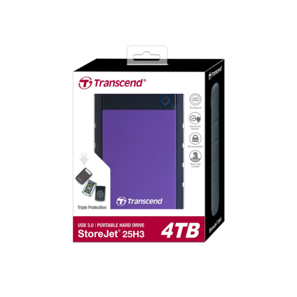 TRANSCEND 4TB EXTERNAL HDD