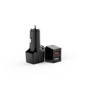 BUDI 076 USB CAR CHARGER