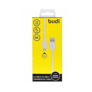 BUDI 157T TYPE C TO USB FAST CHARGE/SYNC CABL