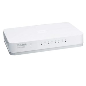 DLINK DGS-1008A '8-Port Gigabit Easy Desktop Switch(DWAC00039)