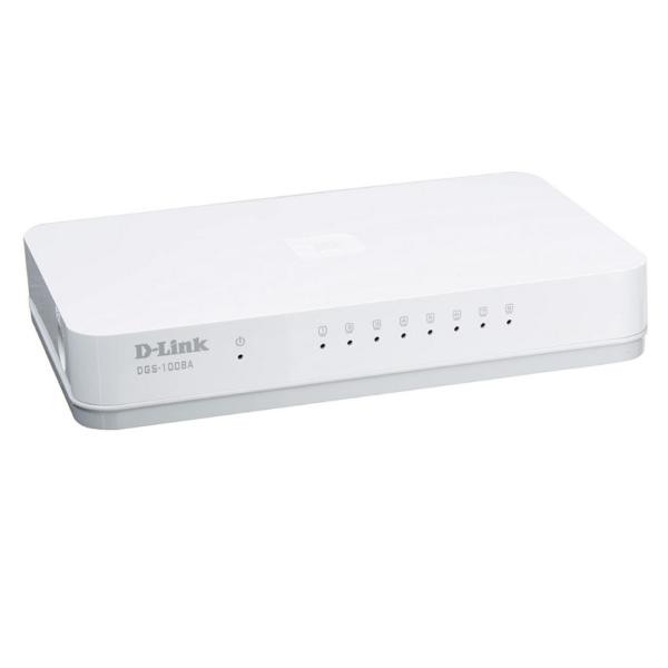 DLINK DGS-1008A '8-Port Gigabit Easy Desktop Switch(DWAC00039)