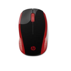 HP 200 RED WIRELESS MOUSE 2HU82AA(DWAC00569)