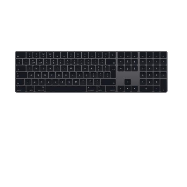 Magic Keyboard with Numeric Keypad - British English - Space Gray