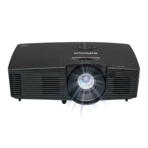 InFocus IN116xa – DLP projector –3D–3800 lumens–WXGA 16:10-Int. Speakers