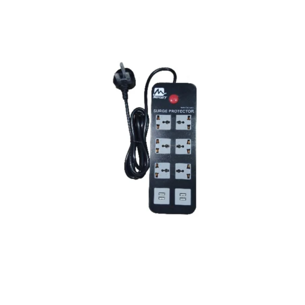 MERCURY SURGE PROTECTOR WITH USB EXTENSION
