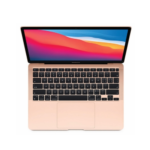 Apple Macbook Air 13.3-Inch Notebook Laptop Apple M1 Processor 8GB RAM 256GB SSD Apple M1 7-core Graphics macOS Big Sur 11.0-MGND3B/A(Gold)