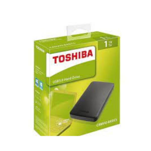 TOSHIBA 1TB EXTERNAL HDD
