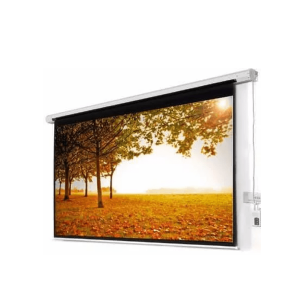 ELECTRIC PROJECTOR SCREEN 120 X 120